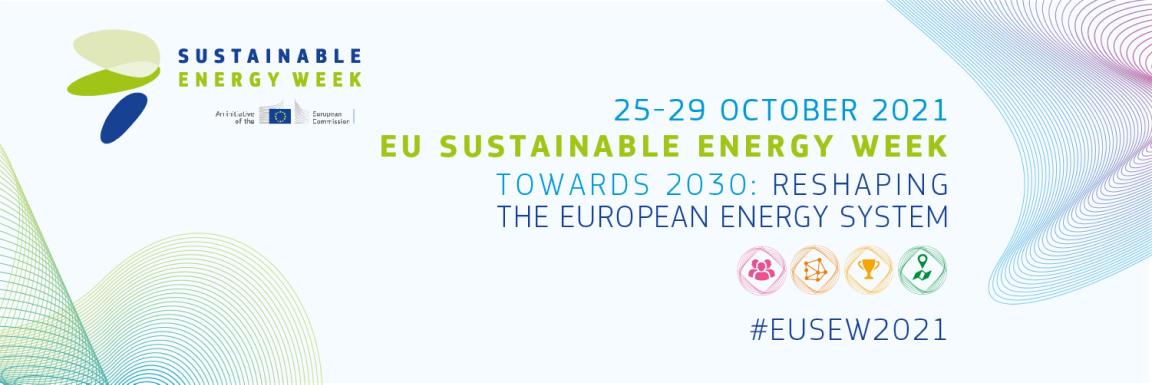 25-29 October 2021 EU Sustainable Energy Week Flyer